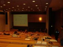På forelesning